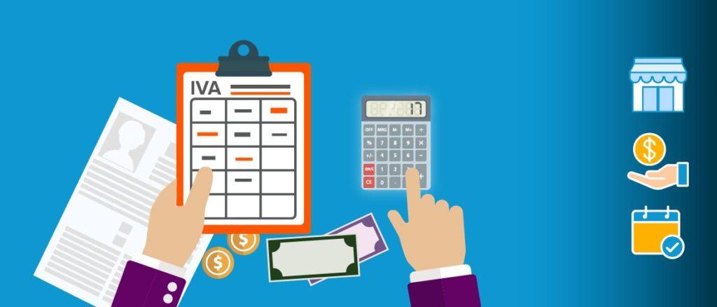 ¿Cómo es el IVA y el IRFF en las facturas de los autónomos?
