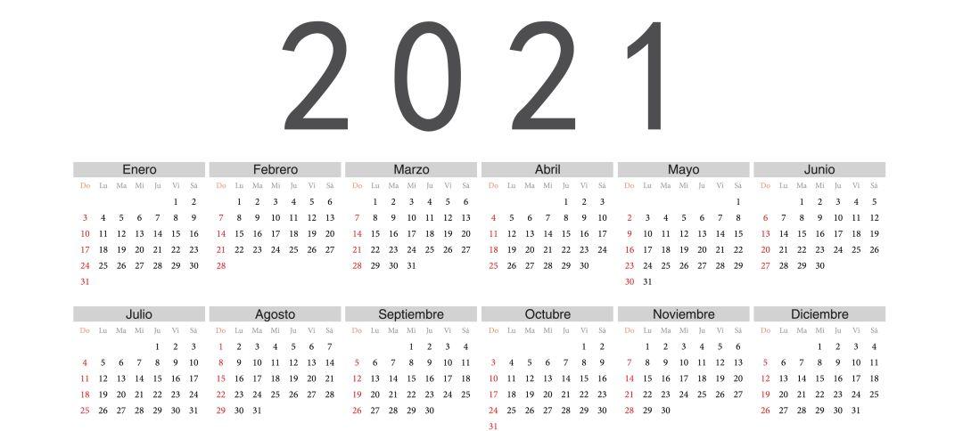 Conoce el calendario fiscal para este año 2021